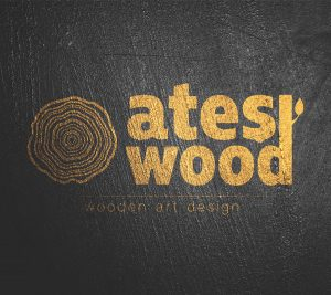 Ateş Wood Logo